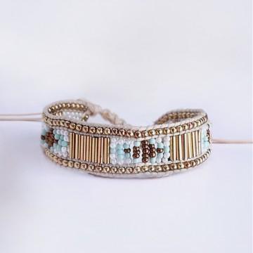 Apache woven bracelet