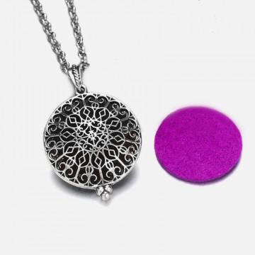 Aromatherapy Mandala necklace