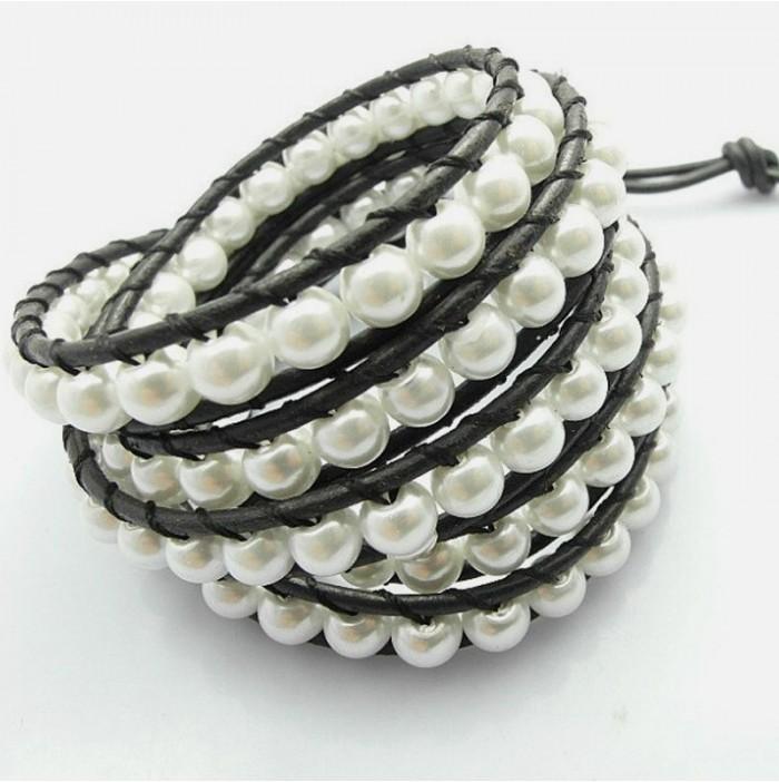 Fancy wrap bracelet