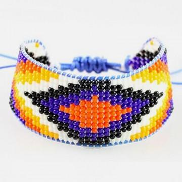 Purple miyuki bracelet
