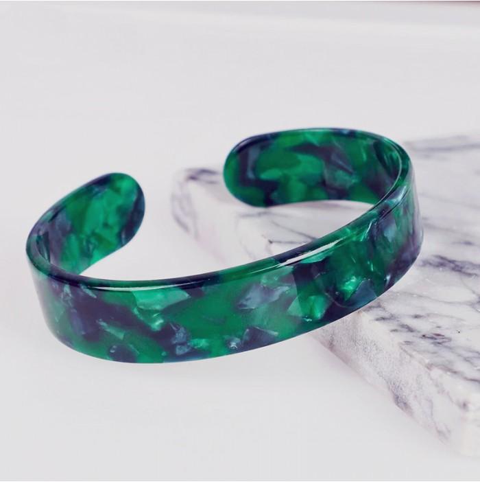 Small emerald cuff