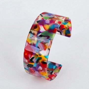 Multicolored cuff