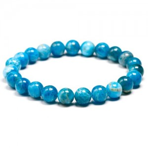 Apatite stone bracelet