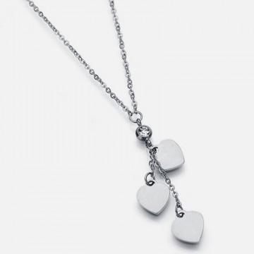 3 Herzen Halskette