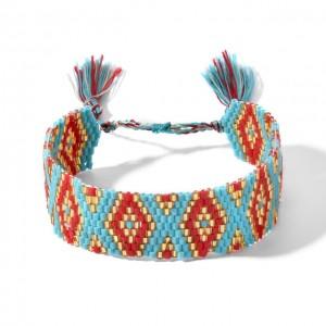 Miyuki turquoise bracelet