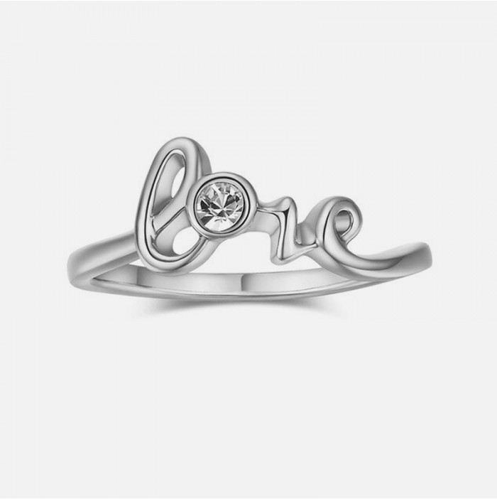 Love Zircon Ring