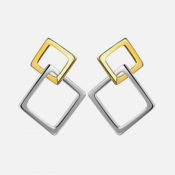 Gold silver square bullets