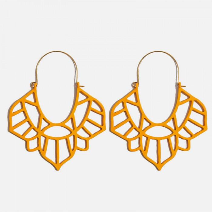India Ocher Earrings