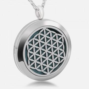 Blume des Lebens Halskette für die Aromatherapie