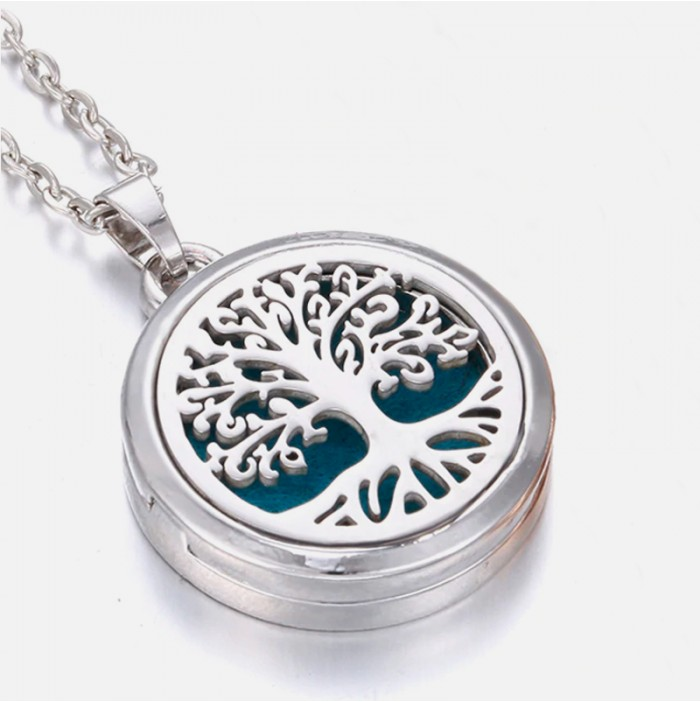 Tree of life necklace for aromatherapy
