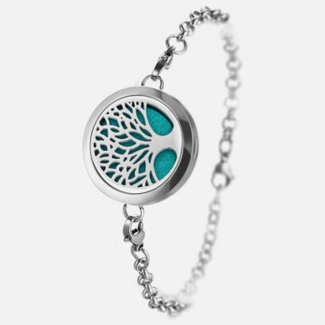 Aromatherapy tree of life bracelet