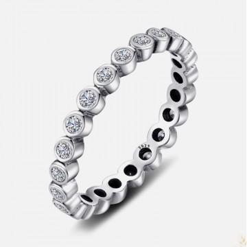 Round zirconia ring